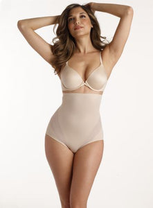 Cool & Comfortable Hi Waist Brief - Nude