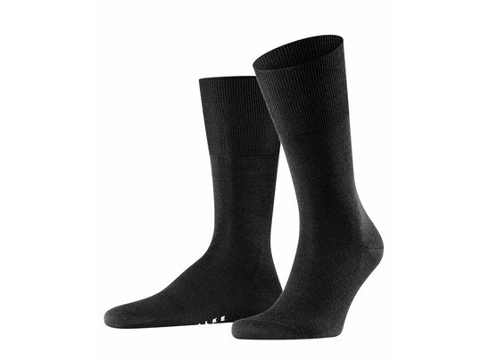 Airport Mens Socks - Black