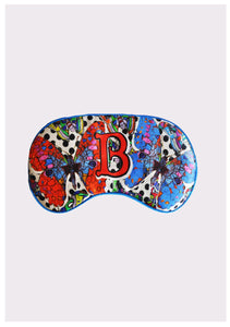 "Silk Eye Mask / ""B for Butterfly"""