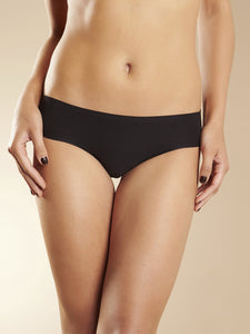 Soft Stretch Bikini Brief - Black