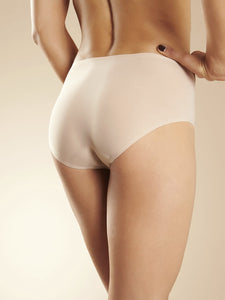Soft Stretch Hipster Brief - Nude