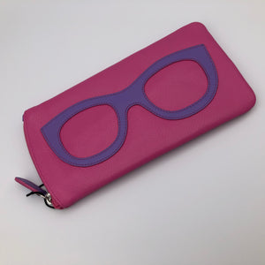 Sunglasses Case - Pink / Amethyst