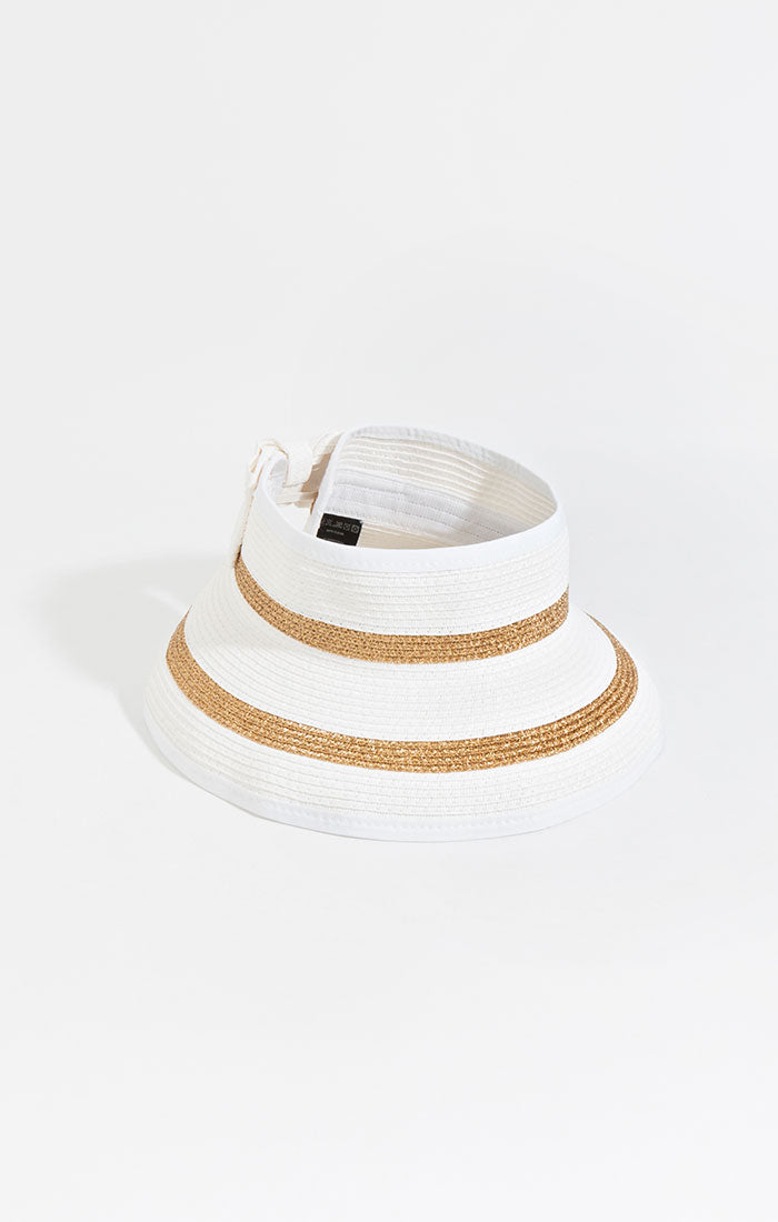 Catalonia Visor - White