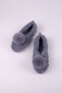Dora Slipper - Grey