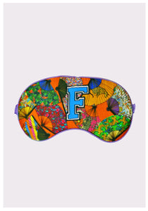 "Silk Eye Mask / ""F for Fan"""