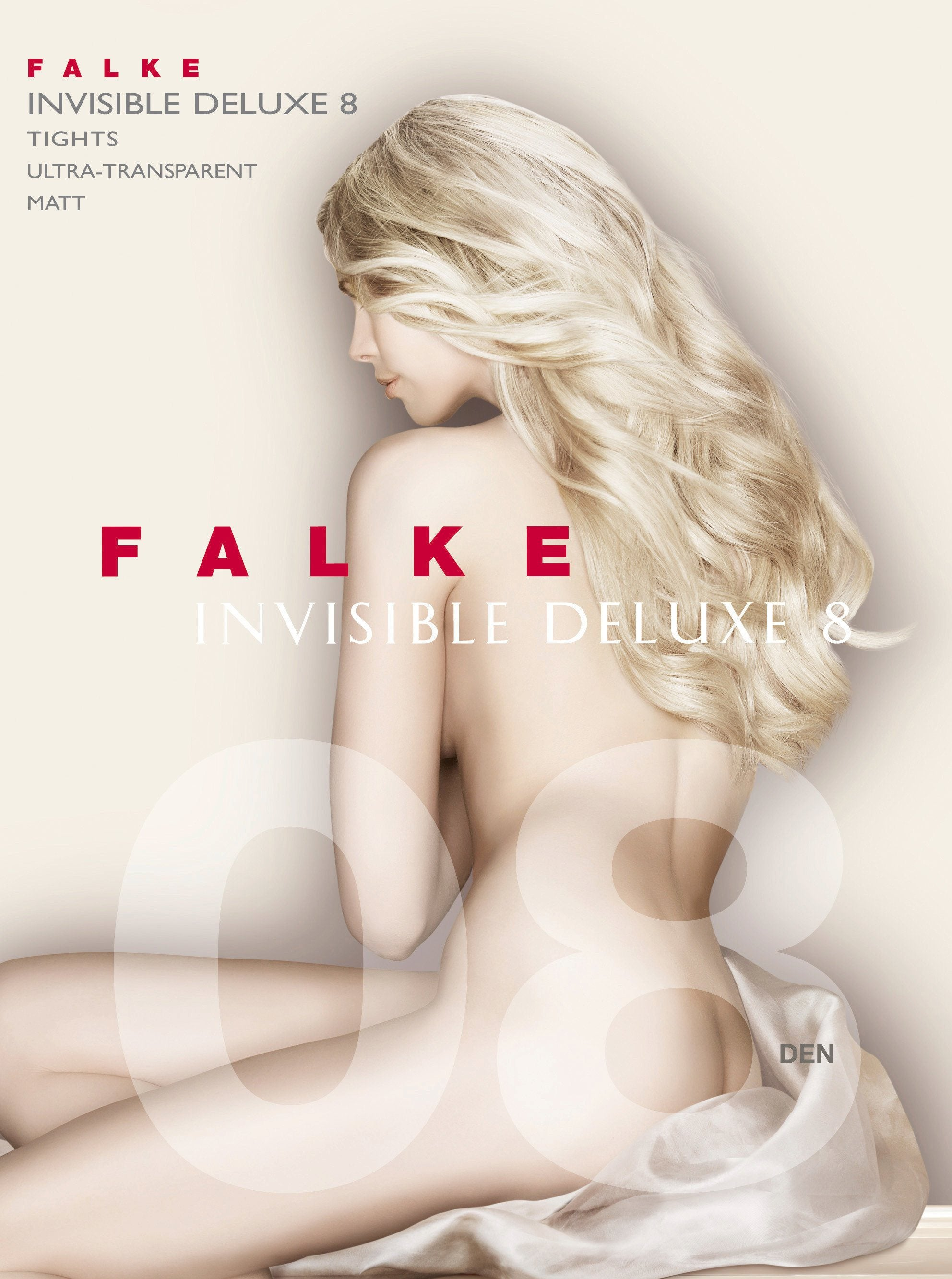 Invisible Deluxe 8 Den Tights