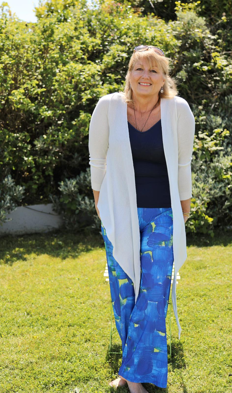Printed Jersey Trouser