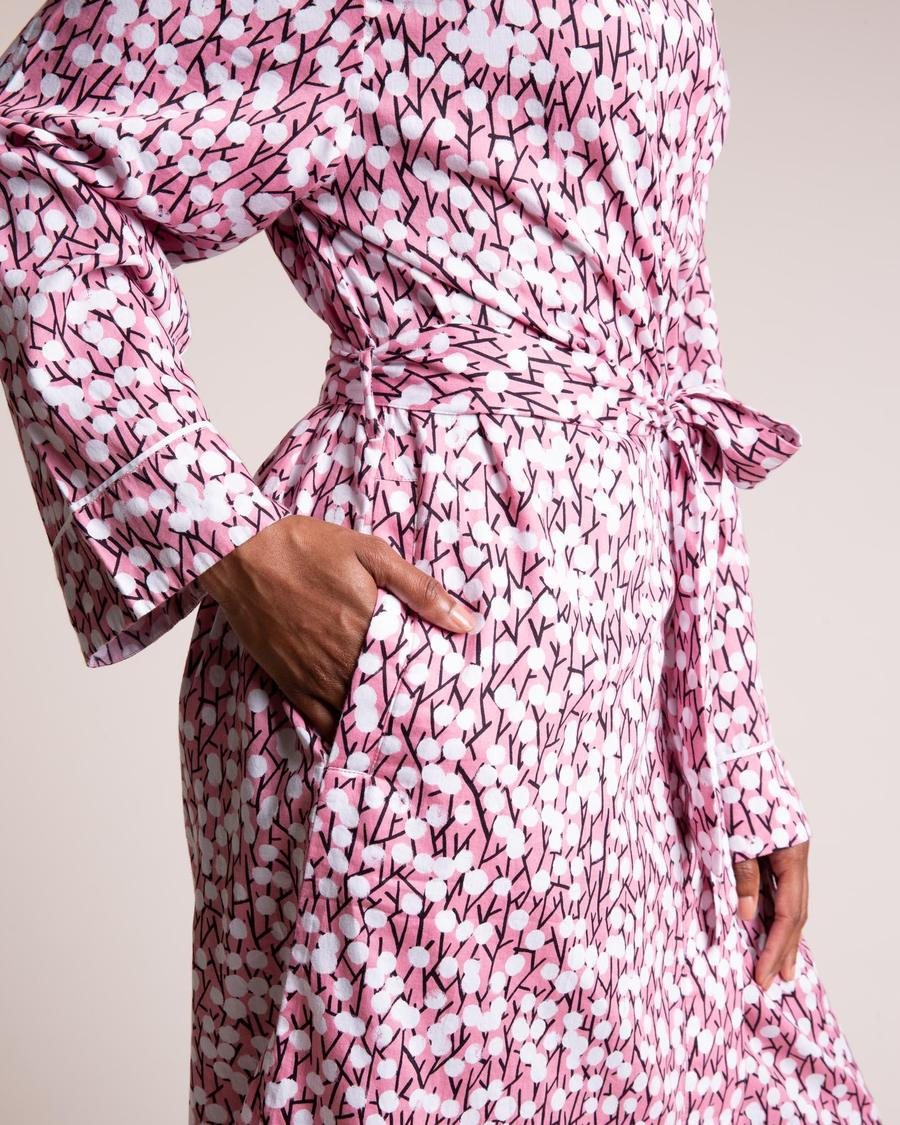 Pink Hideaway Dressing Gown