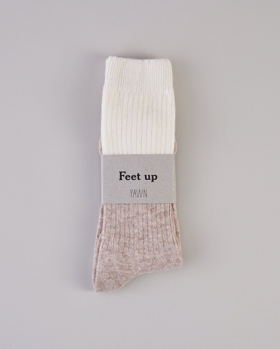 Sleep Socks - Camel