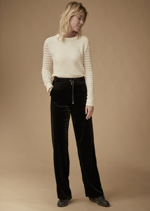 Velvet Trousers - Black