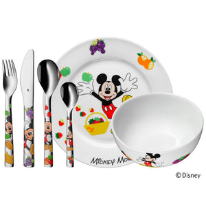 WMF Kinderbesteck Set 6 teilig Mickey Mouse