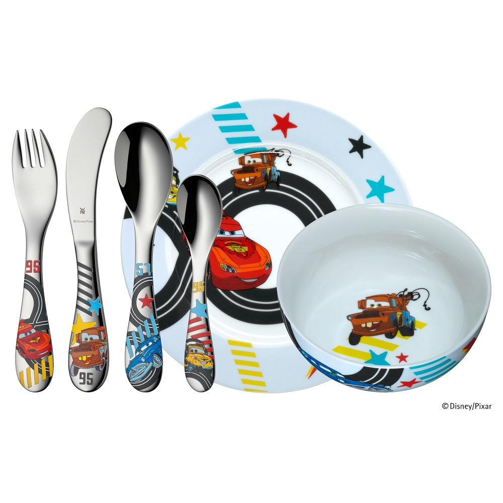 WMF Kinderbesteck Set 6 teilig Cars