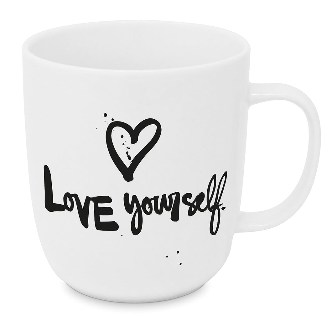 PPD Tasse Love yourself 400ml Porzellan