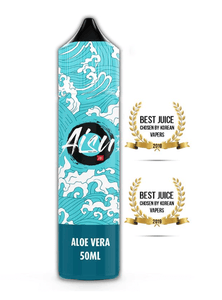 Aisu Aloe Vera 50ml E Liquid with FREE Nic Shot
