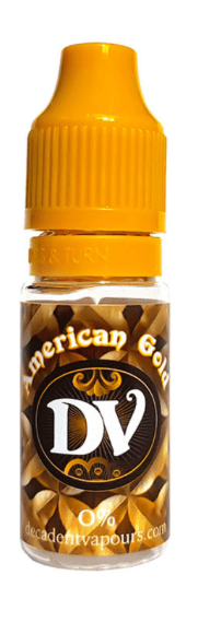 Decadent Vapours American Gold 10ml E Liquid