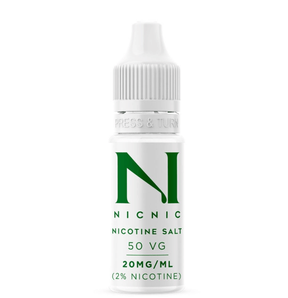 NIC NIC My Vapery Salt Shot 20MG
