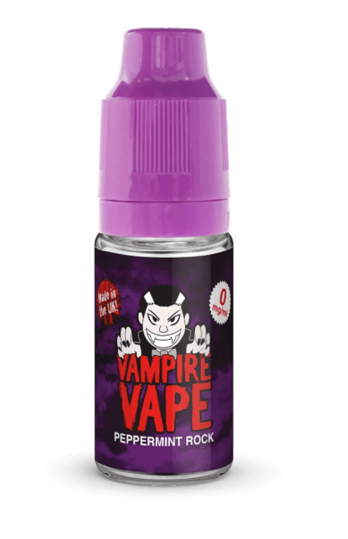 Vampire Vape Peppermint Rock E Liquid 10ml