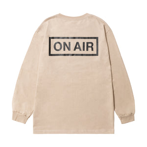 ON AIR Basic Logo L/SL  -SAND