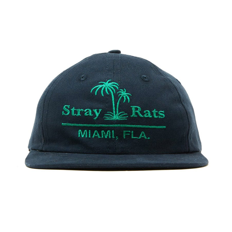 STRAY RATS TOURIST HAT NAVY