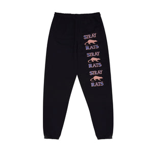 STRAY RATS RODENTICIDE SWEATPANTS -BLK