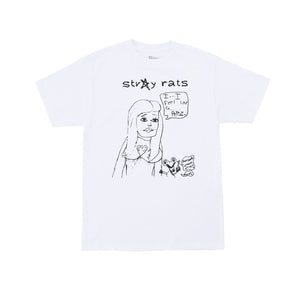 STRAY RATS Burb Tee -WHITE