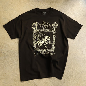 STRAY RATS TO THE END TEE -BLACK