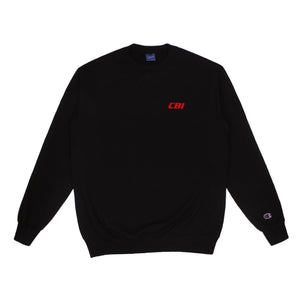 CBI Network Logo Crewneck -BLACK