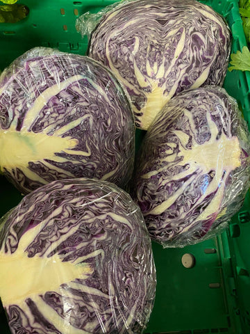Red Cabbage Half -each