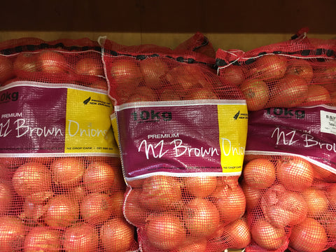 Brown Onions-10kg bag