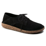 Gary - Black Suede Leather