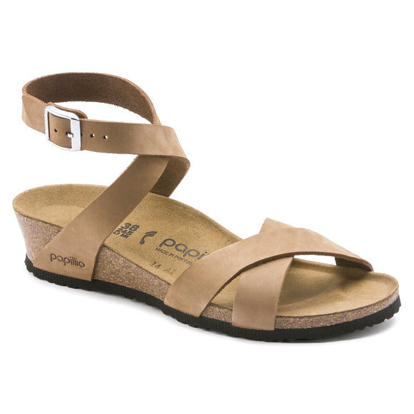 Lola - Sand Nubuck Leather - Size 36