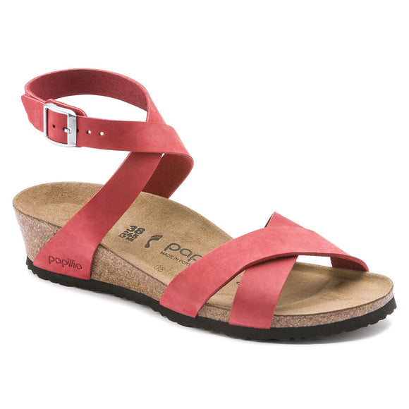 Lola - Coral Nubuck Leather - Size 38