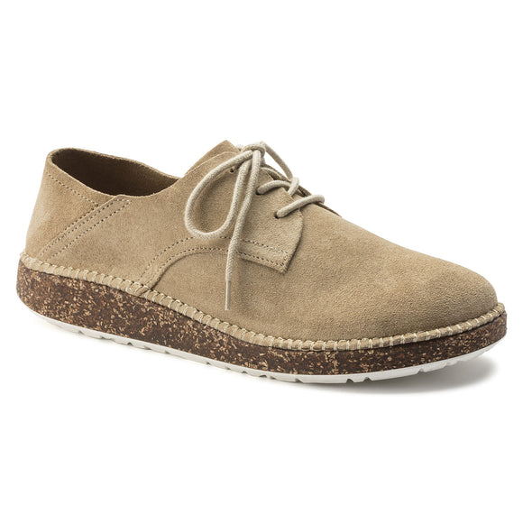 Gary - Sand Suede Leather