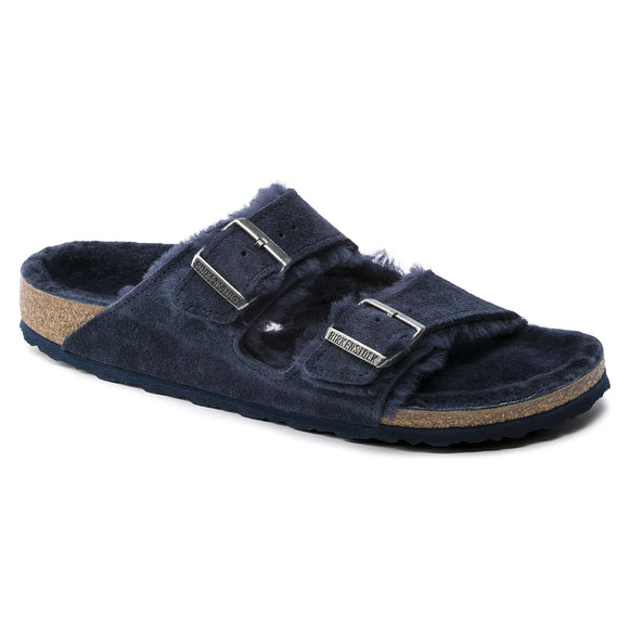 Birkenstock - Arizona Shearling - Night Suede