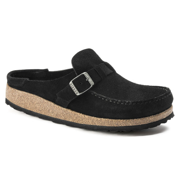 Birkenstock - Buckley - Black Suede Leather- old buckle