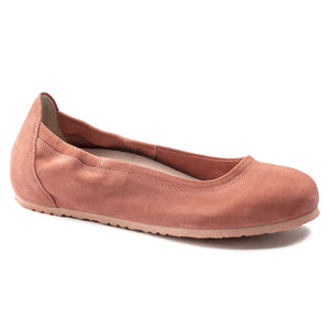Celina - Coral Suede Leather