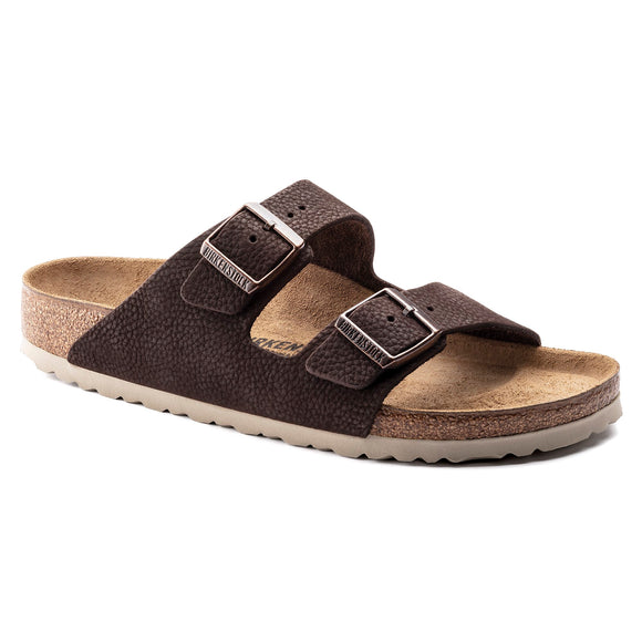 Arizona - Steer Soft Brown Nubuck Leather