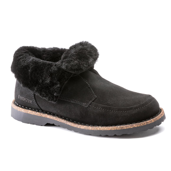 Bakki - Black Suede Leather