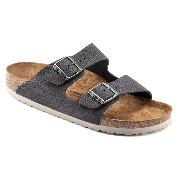 Arizona - Steer Soft Gray Nubuck Leather