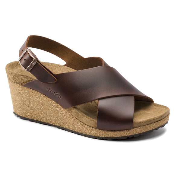 Birkenstock - Samira - Cognac Leather
