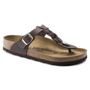 Birkenstock - Gizeh Braided - Habana Oiled Leather