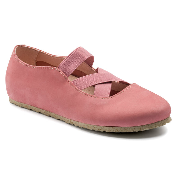 Santa Ana - Old Rose Nubuck Leather