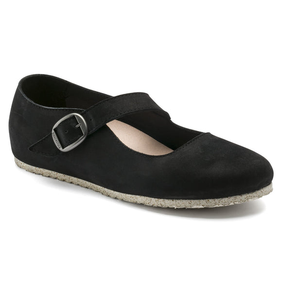 Birkenstock - Tracy - Black Nubuck Leather