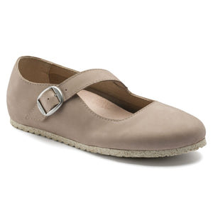 Tracy - Sand Nubuck Leather