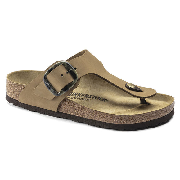 Birkenstock - Gizeh Big Buckle - Mud Green