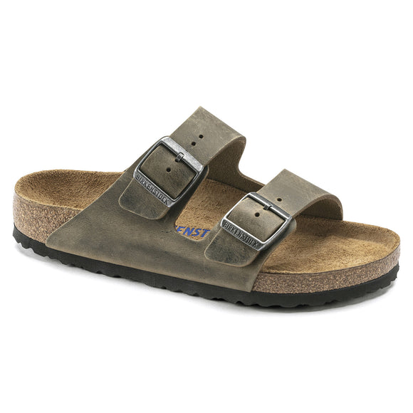 Birkenstock - Arizona Soft - Faded Khaki Leather