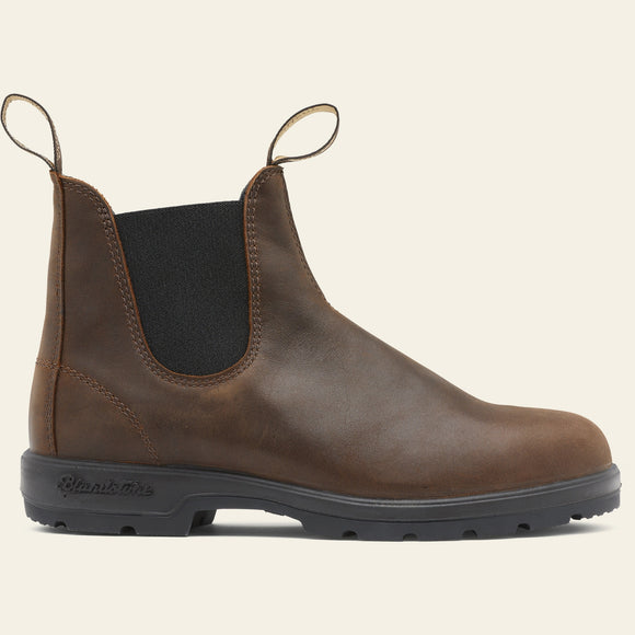 Blundstone 1609 Chelsea Boot, Leather Lined - Antique Brown