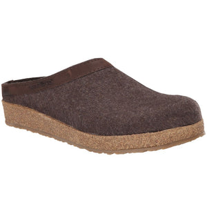 Haflinger Grizzly - Smokey Brown with Leather Trim
