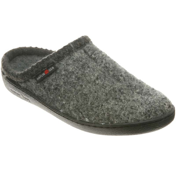 Haflinger AT Classic Hard Sole  - Gray Speckle