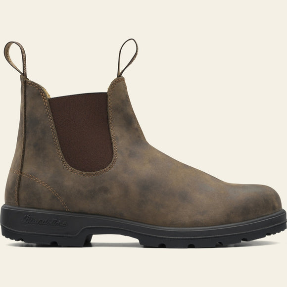 Blundstone - 585 Chelsea Boot, Leather Lined - Rustic Brown